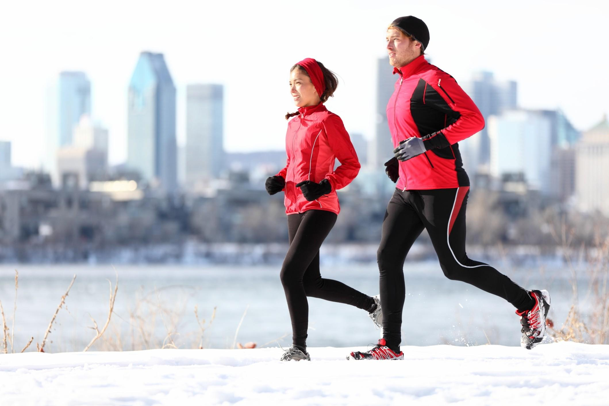 abbigliamento invernale running
